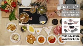 BERLINGER HAUS: 15 teilig | Set | Geschirr | Kochgeschirr | Topf | Bratpfanne | Küche | Rose-Gold