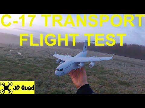 C-17 Plane Flight Test - Courtesy of Banggood