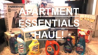 My First Apartment Series | Apartment Essentials Haul #1| AMAZON, WALMART, BURLINGTON, OLLIES