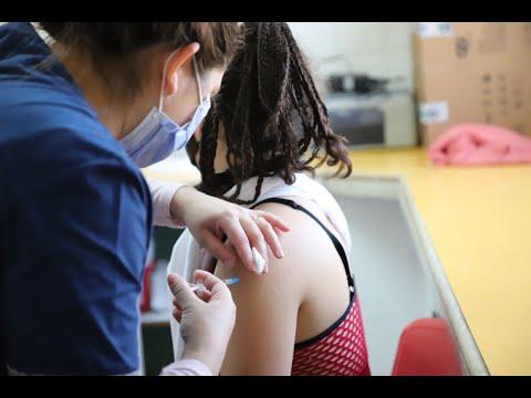vacunación adolescentes cinco saltos