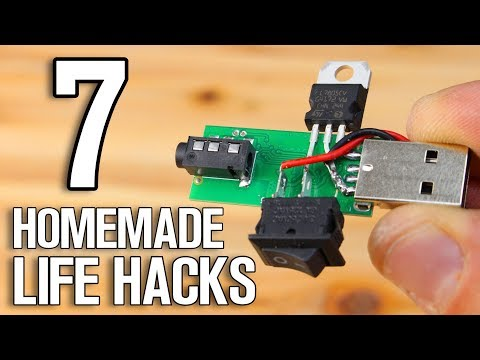 7 Homemade Projects – 7 DIY Life Hacks