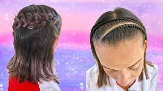 Peinados Para Cabello Corto Para Nina Trenzas 免费在线视频最佳电影