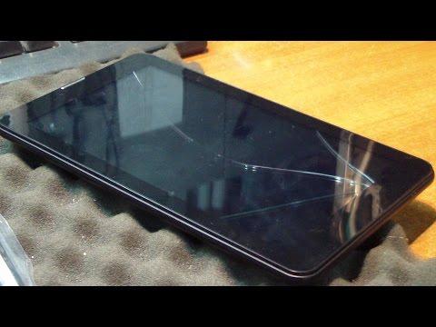 Разбито стекло тачскрина. Планшет Oysters T72HRi 3G. Замена тачскрина