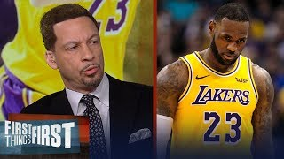 Chris Broussard on who's to blame for the Lakers disappointing season   NBA   FIRST THINGS FIRST