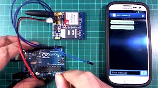 Arduino + GSM module (SMS message, HTTP requests)
