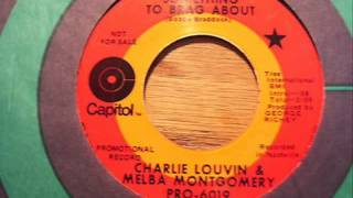 "Charlie Louvin & Melba Montgomery ""Something To Brag About"""