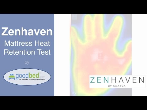 Zenhaven Mattress Heat Retention Test (VIDEO)