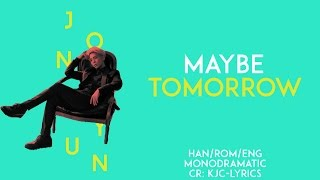 Jonghyun - Maybe Tomorrow