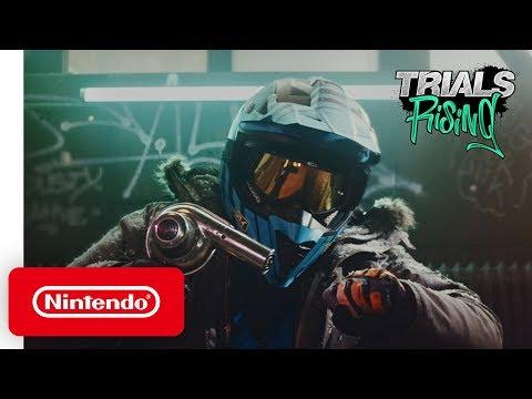 Trials Rising: Biggest Trials Ever - Launch Trailer - Nintendo Switch