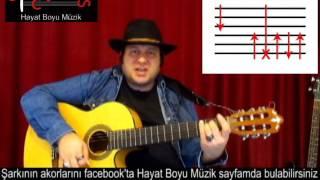 Gitar Dersi - Bekle Dedi Gitti Şarkısı Gitar Ile Nasıl Çalınır