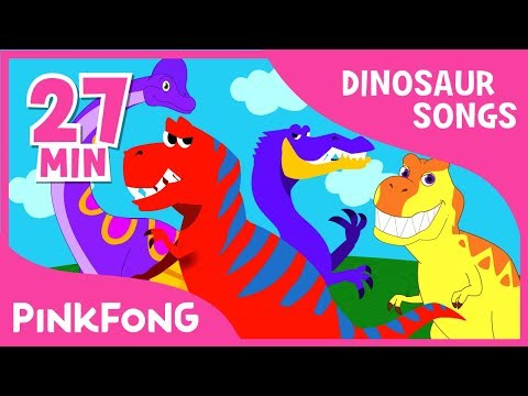 Tyrannosaurus Rex And 23+ Songs| Dinosaur Songs | + Compilation | Pinkfong Songs For Children Mp3
