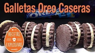 Oreo Cookies - Caseras - Paso a paso - Recetas Explosivas