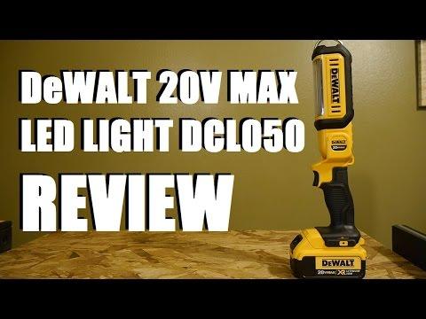 DeWALT 20V Max LED Area Light DCL050 Review