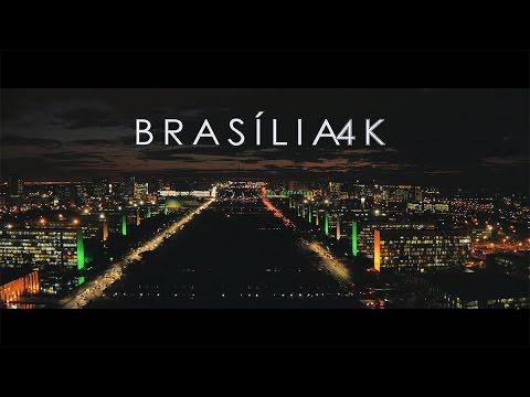 Veja Brasília em Alta Definição 4K