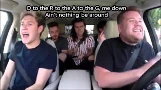 Drag Me Down Remix (LYRICS) Ft. James Corden || One Direction