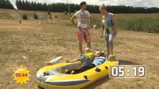 Test: Schlauchboot - billig oder teuer? Sat.1 Frühstücksfernsehen