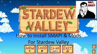 smapi stardew valley failed - मुफ्त ऑनलाइन