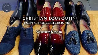 Mens Christian Louboutin Shoe Collection (6 Pairs So Far - 2018)