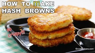 How To Make Perfect HASH BROWNS At Home