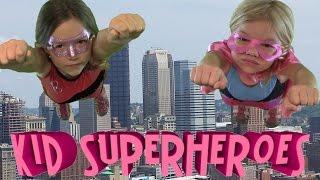 Kid Superheroes part 1 of 2