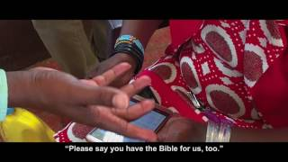 "Deaf in Lodwar ""Please say you have the Bible for us too"""