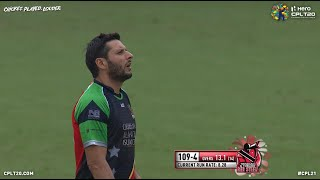 AMAZING CPL OVER - TRINIDAD RED STEEL V ST KITTS AND NEVIS PATRIOTS