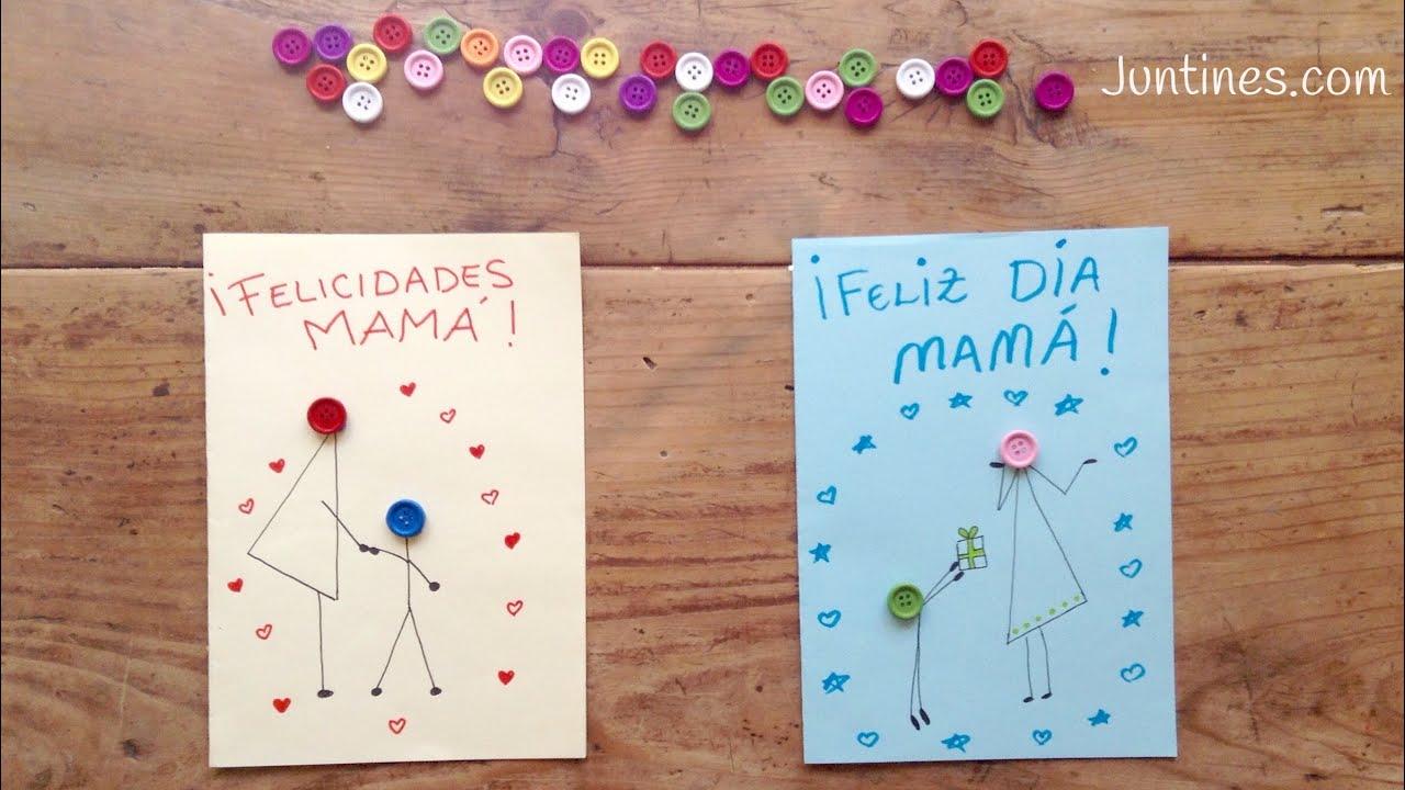 TARJETA para el día de la madre | manualidades para REGALAR a mamá