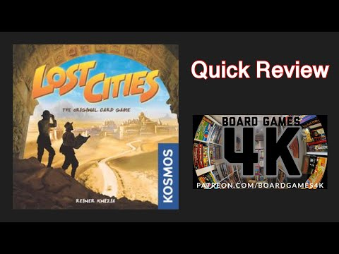 Lost Cities - Quick Review
