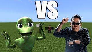 Dame Tu Cosita vs Gangnam Style | Minecraft PE