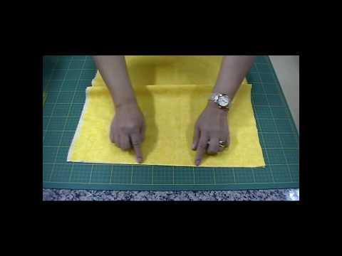 Como Preparar, Passar e Cortar os Tecidos para o Patchwork | Ana Cosentino