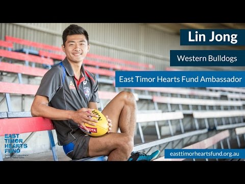 Lin Jong - East Timor Hearts Fund Ambassador