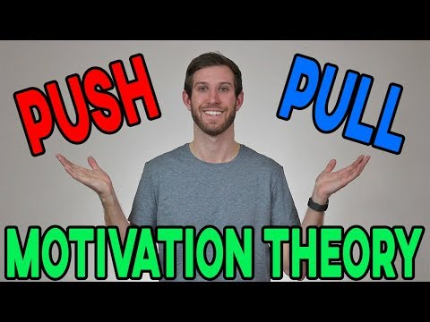 Push and Pull Motivation Theory