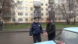 Кемеровская ГИБДД наконец поймала нарушителей ПДД