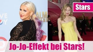 Jo-Jo-Effekt bei Stars: Christina Aguilera, Renee Zellweger, Jared Leto, Matthew McConaughey