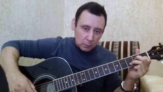"""Красивая и простая мелодия на гитаре - фрагмент Always Somewhere - (группа """"Scorpions"""") - разбор"""