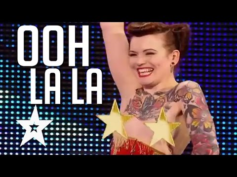 Top 5 Sexiest Auditions On Got Talent (видео)