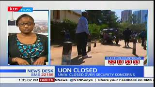 UON CLOSED: Student leaders protest closure