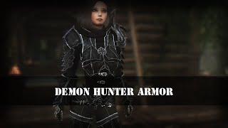 "TES 5: Skyrim | Доспехи ""Охотница на демонов"""