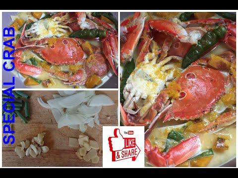 Special budget crab cooking recipe