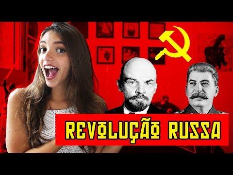 TUDO QUE VOCÊ PRECISA SABER SOBRE A REVOLUÇÃO RUSSA! - Resumo de História (Débora Aladim)