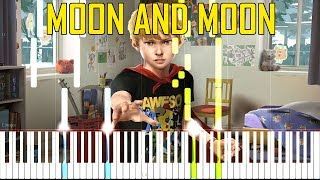 Moon And Moon - Bat For Lashes (OST Awesome Adventures Of Captain Spirit) [Synthesia Piano Tutorial]