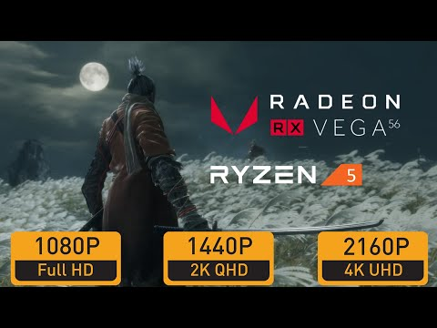 The Witcher 3 RX VEGA 56 RYZEN 5 2600 Max Settings 1440p
