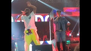 Fans Go Crazy As Alaga Ibile, Reminense Surprises Davido & Stormed On Stage As Mc Galaxy
