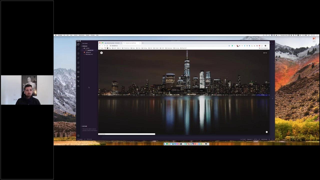 Code your Azure Deployments using Terraform