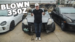 I bought a blown up 350Z...