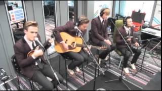 McFly perform Love Is Easy on BBC Radio 5