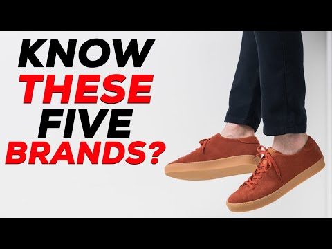 You've NEVER HEARD OF these 5 Sneaker Brands | Parker York Smith