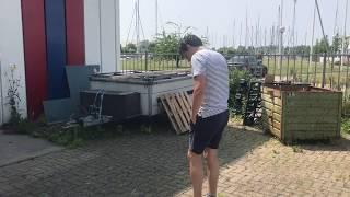 Tussentijds bezoek aan Bonsink Yacht painters B.V.