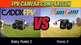 FPV Camera Comparison - Caddx Baby Ratel 2 VS Runcam Nano 2