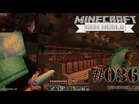 Das neue Lagersystem ★ #36 ★ We Play Minecraft SMP: A New World [HD|60FPS]